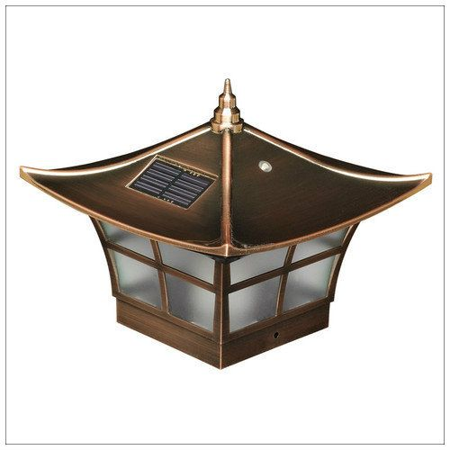 Solar Deck Post Cap Lights 4x4 Copper Ambience Wood Vinyl Posts Solar Post Caps Outdoor Post Lights Post Cap