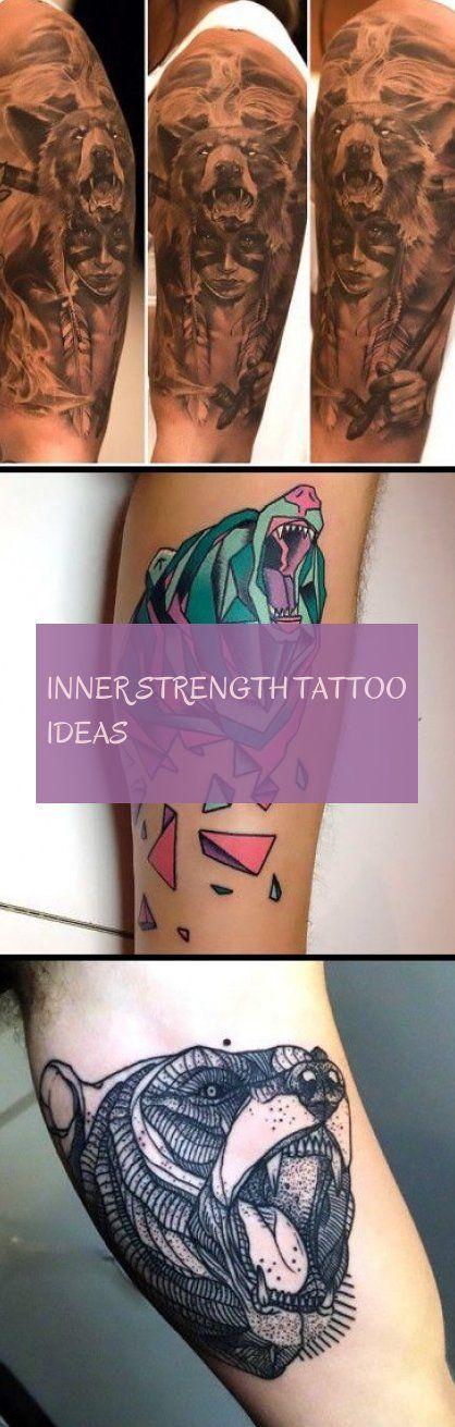 inner strength tattoo ideas  innere stärke tattoo ideen