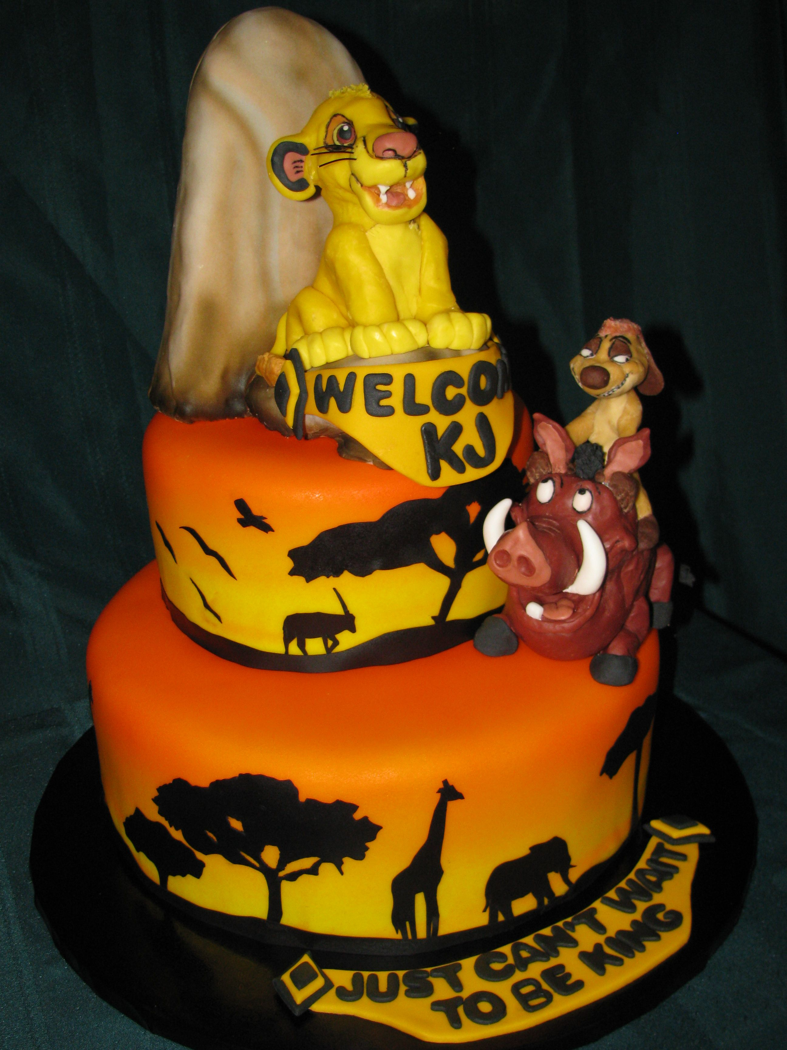 The Lion King Cake Lion King Cakes Lion Cakes Lion King Baby