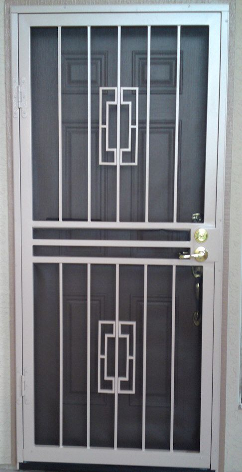 Custom Security Doors Phoenix Security Door Design Iron