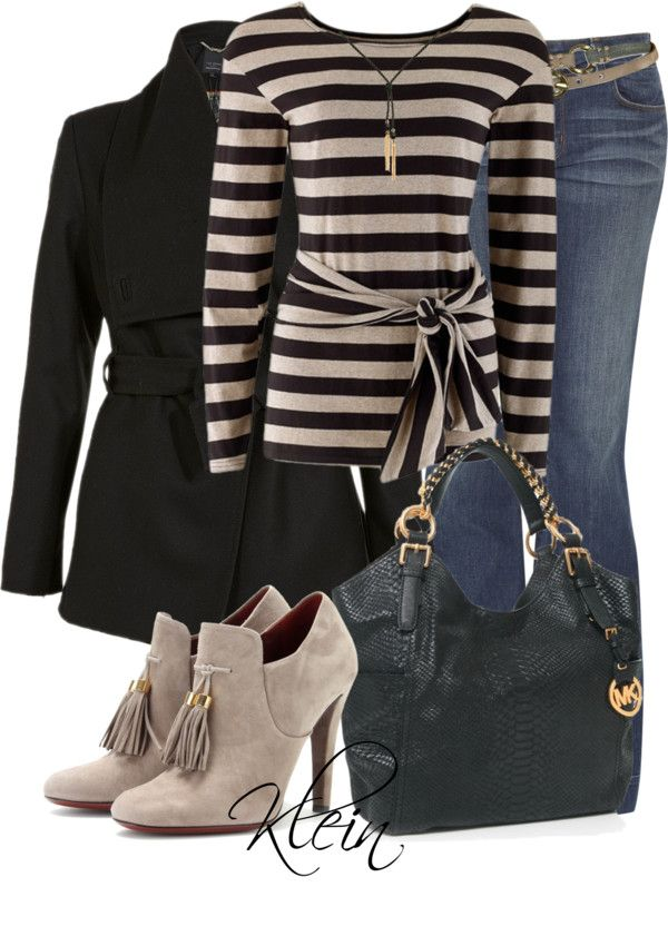 Cute shoes...love this bag and the stripey tee.