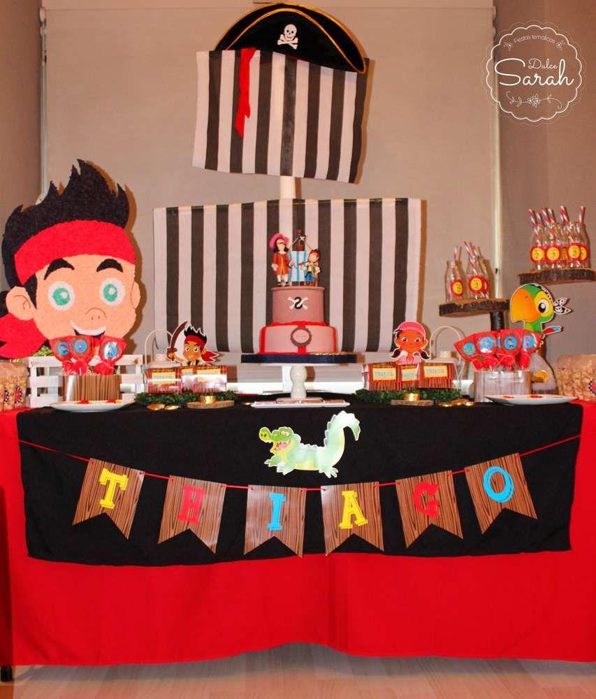 Excellent Jake Y Los Piratas Birthday Party Ideas Con Imagenes Piratas Personalised Birthday Cards Fashionlily Jamesorg