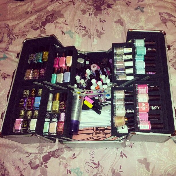 Organised Nail Art | Dreams | Pinterest | Art storage, Nail art ...