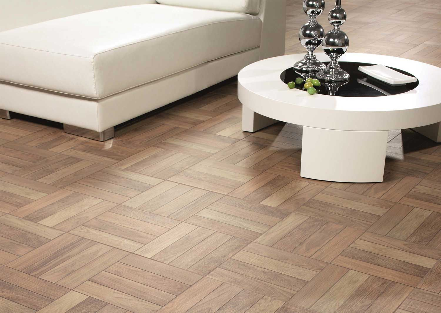Parquet Mosaique Et Ambiance Moderne Idees Decoration Idees