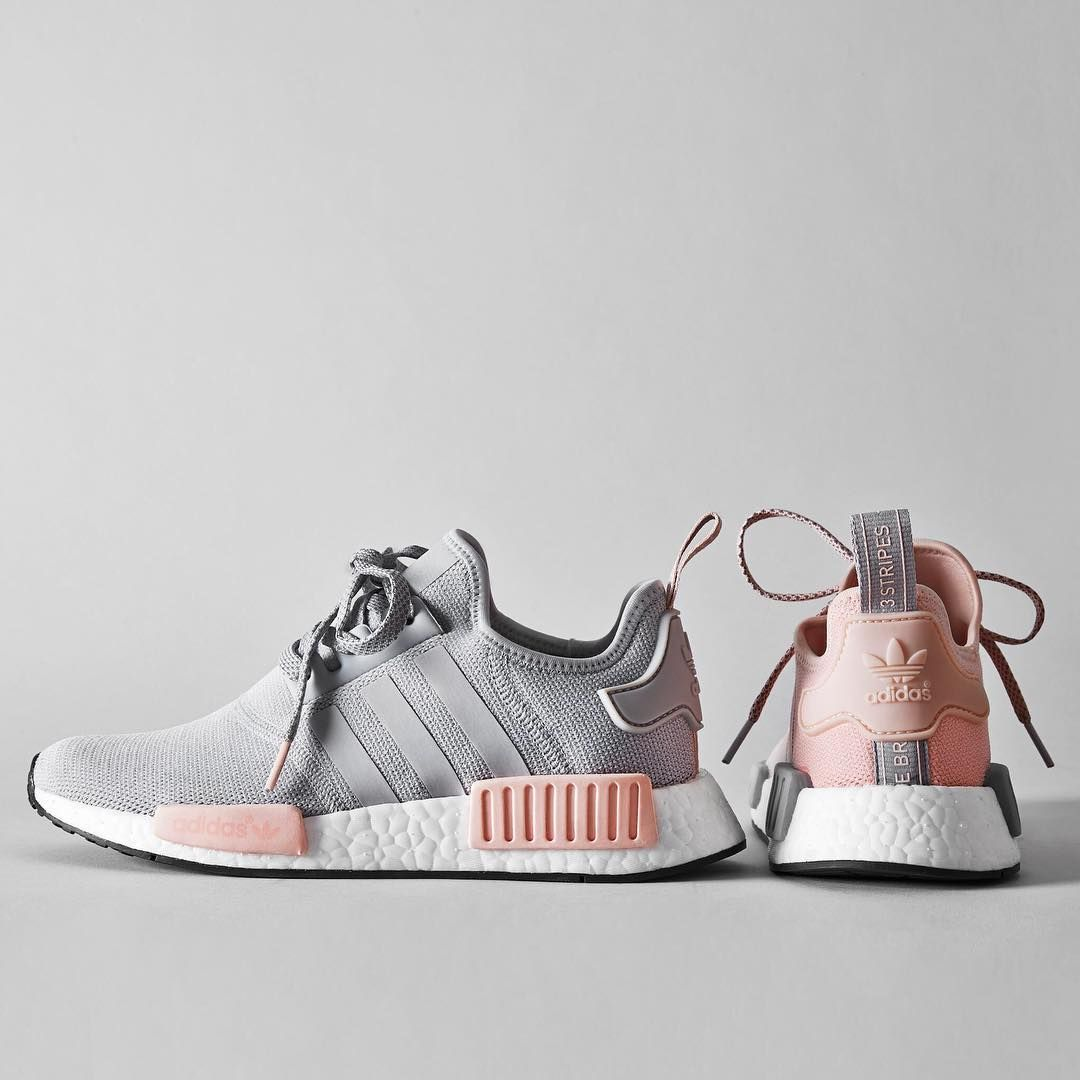 Here Are the Pink and Grey adidas NMDs