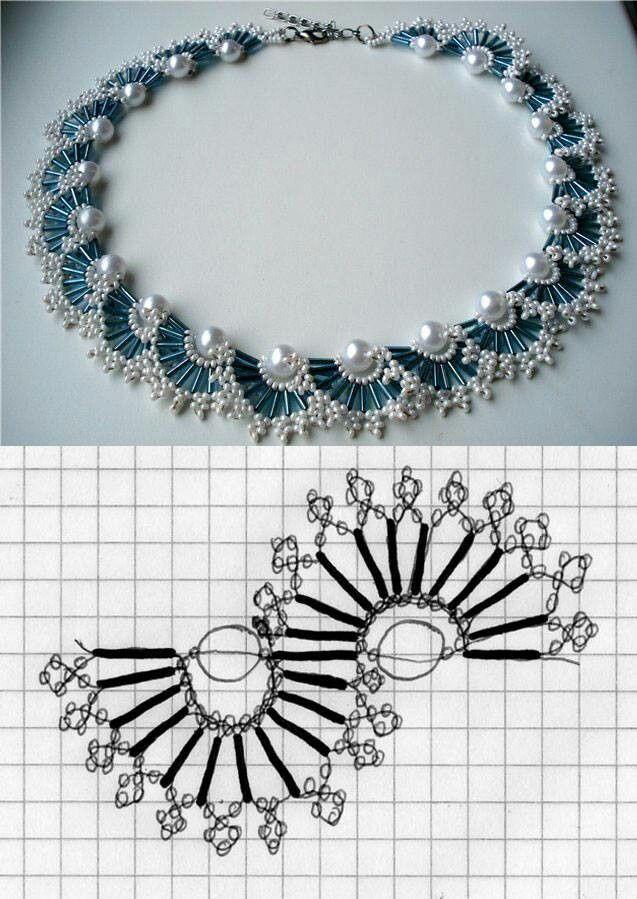 collar patrón | bisuteria