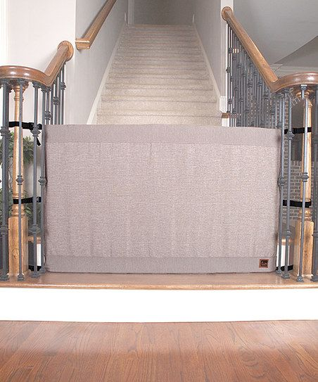 Marvelous The Stair Barrier Khaki Stair Barrier Banister To Banister Gate | Zulily