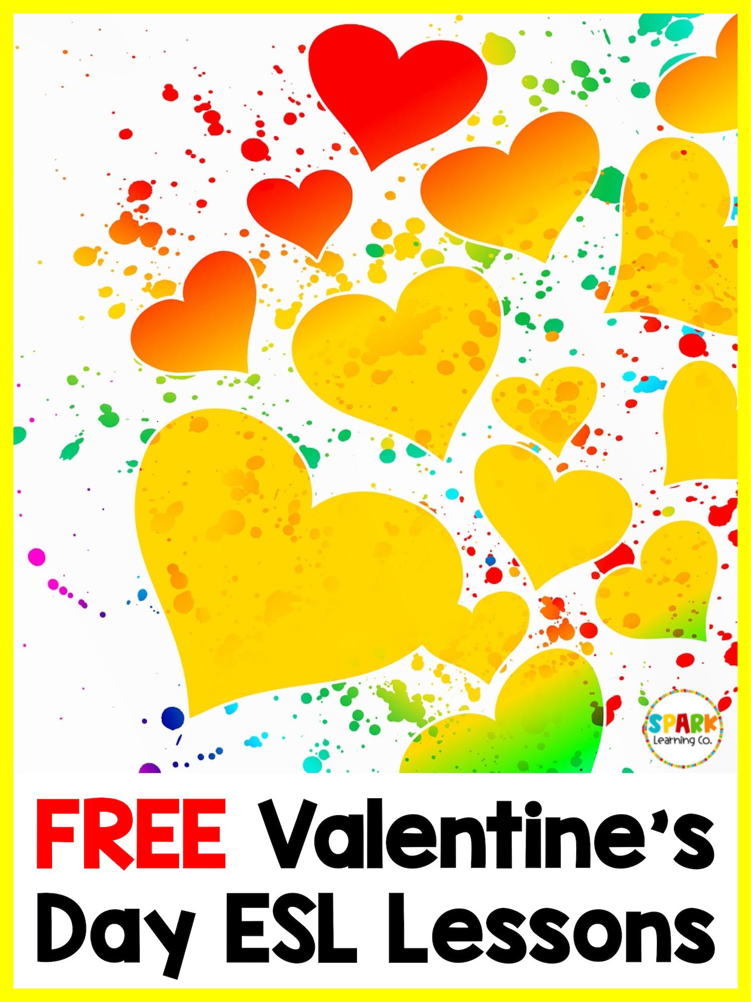 Valentine S Day Esl Activities In