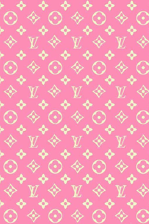 Louis vuitton sfondo rosa