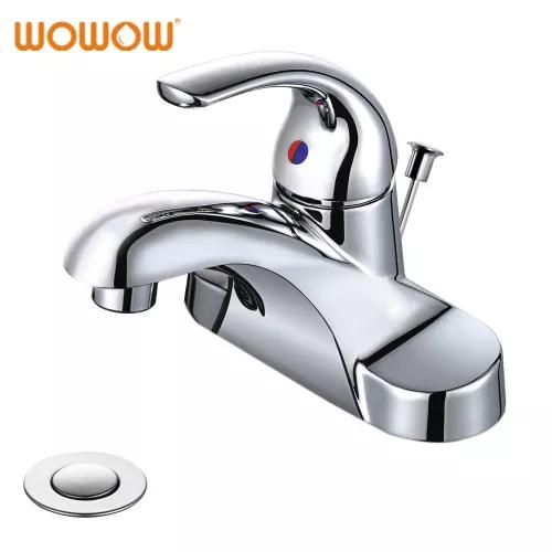 Single Handle Bathroom Faucet 4 Inch Centerset Bathroom Faucets Faucet Sink Faucets