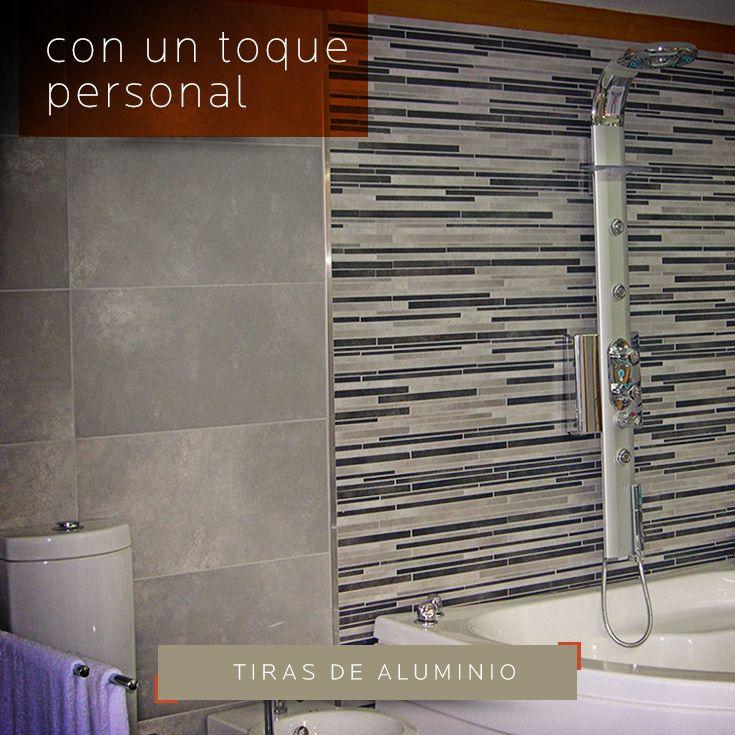 Dale ese toque personal a tu ba o con tiras de aluminio - Tiras de aluminio ...