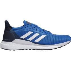 Photo of Adidas Men's Running Shoes Solar Glide 19, Size 41? in blue / dark blue / gray / white, size 41? in blue
