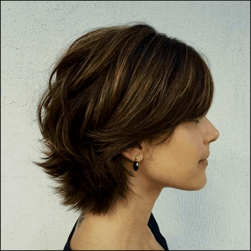 Frisuren Madchen Stufig