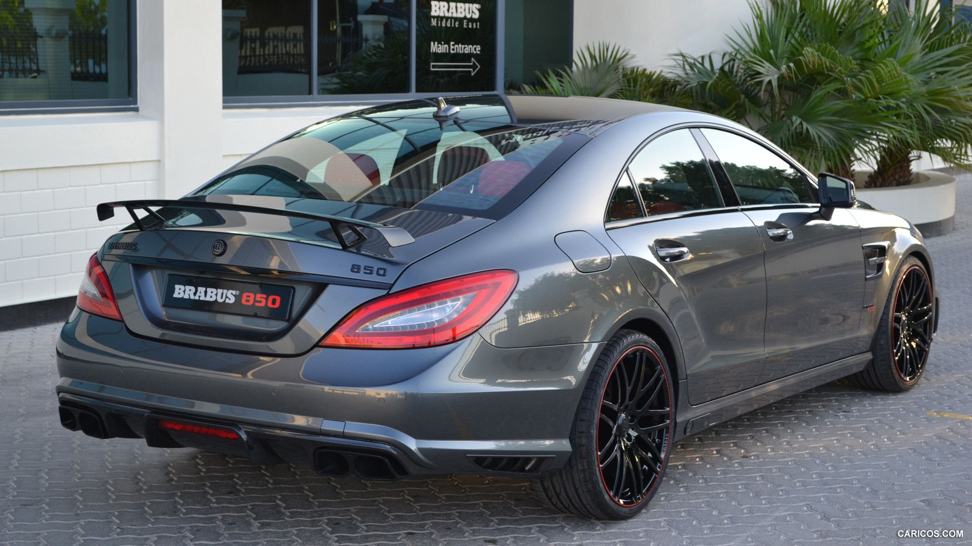 2014 Brabus 850 6 0 Biturbo Based On Mercedes Benz Cls63 Amg