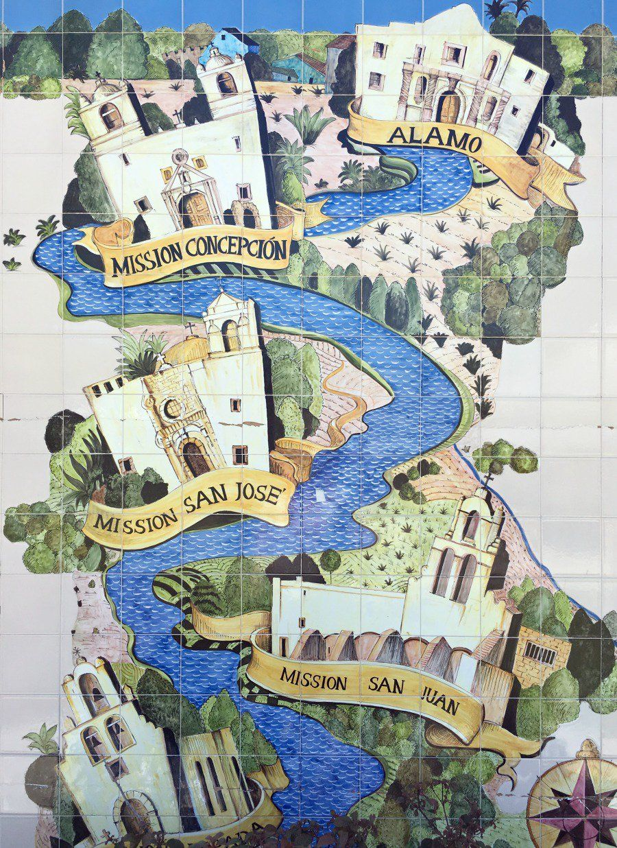 map san antonio missions A Family Guide to the San