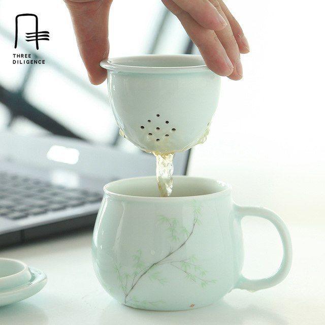 Minimalist Vase   Handmade Home Decor   Ceramic & Glass Decor   Mug