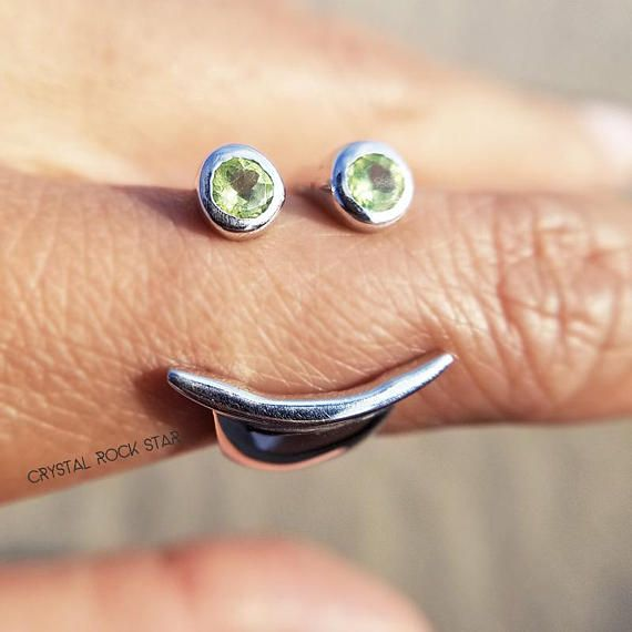 Time To Wear Peridot Ring