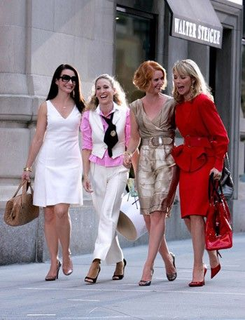 Confirm. Girls from sex and the city have