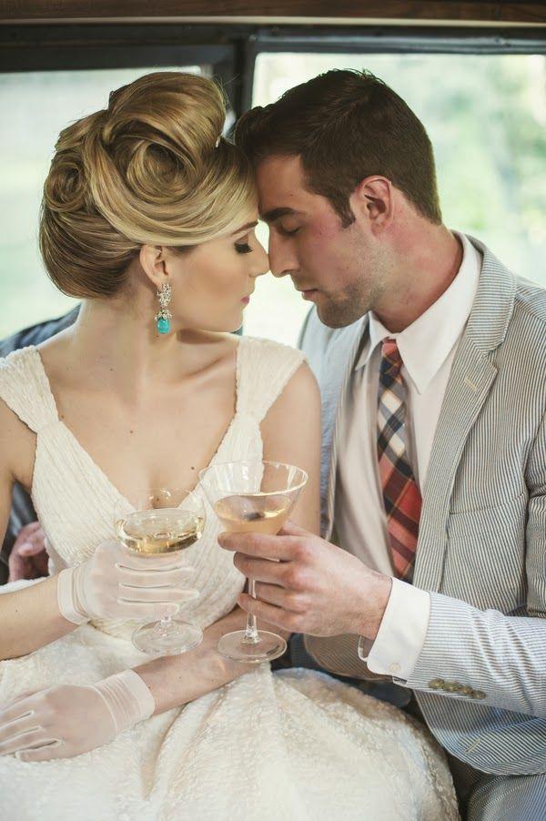 The Frosted Petticoat All American Retro Retro Wedding Vintage Wedding Hair Retro Wedding Hair