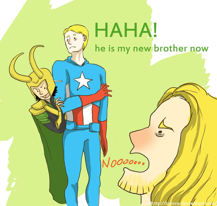 He is my new brother now by miova on DeviantArt