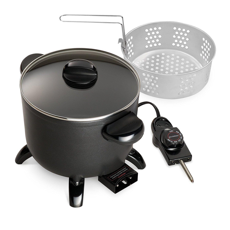 Presto 06006 Kitchen Kettle Multicooker Steamer New Free Shipping Multicooker Best Multi