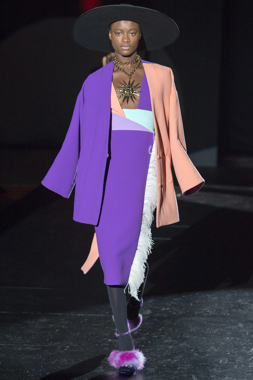 Fashion week Puglisi fausto fall runway for woman