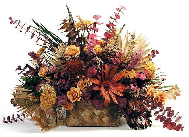 Fabulosos arreglos con flores secas Flores secas, Arreglos y Flor