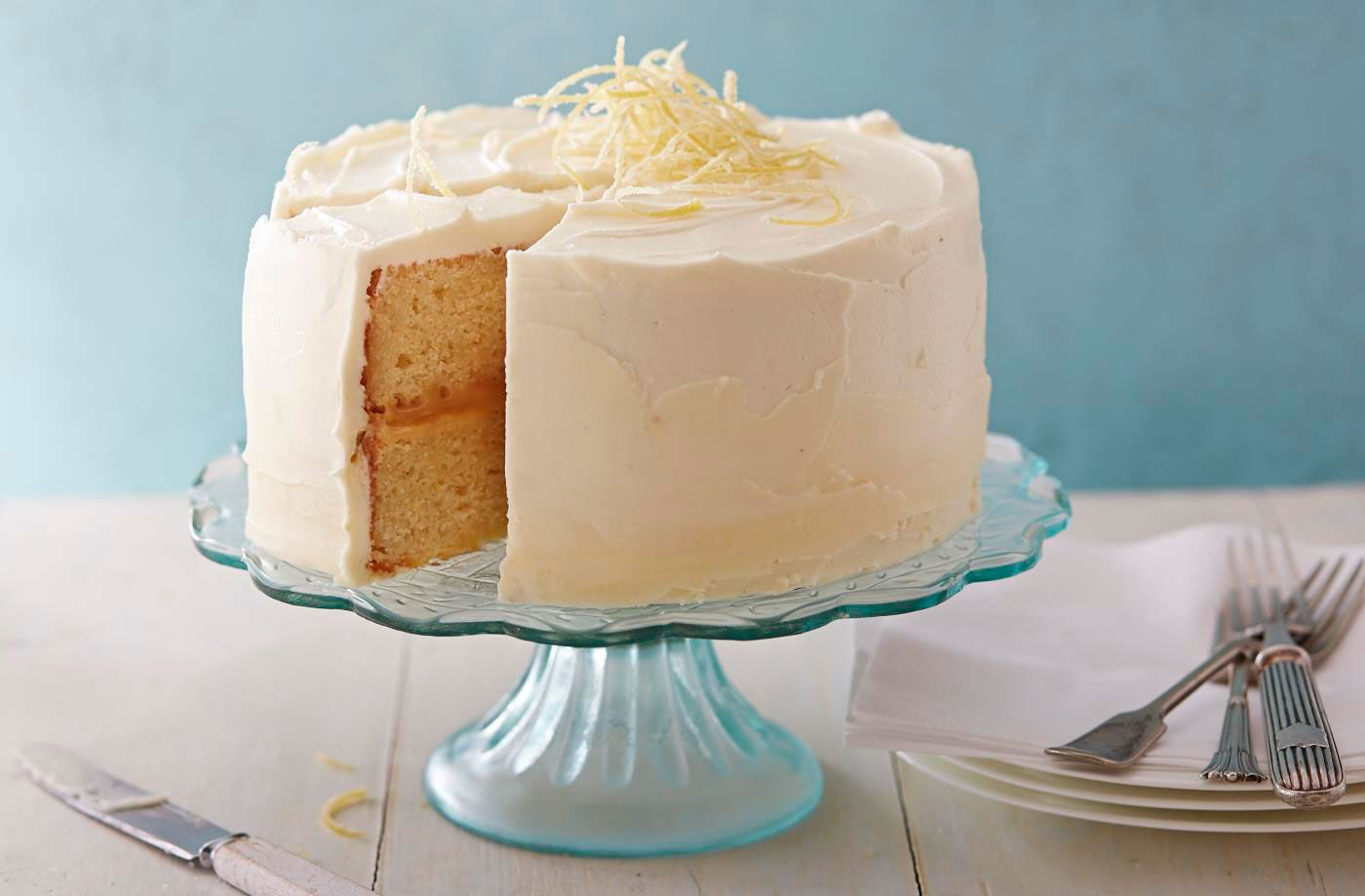 Lemon Celebration Cake Recipe Birthday Special Occasion Cakes