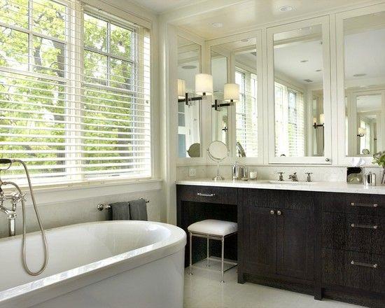 White Recessed Medicine Cabinet Design, Pictures, Remodel, Decor And Ideas