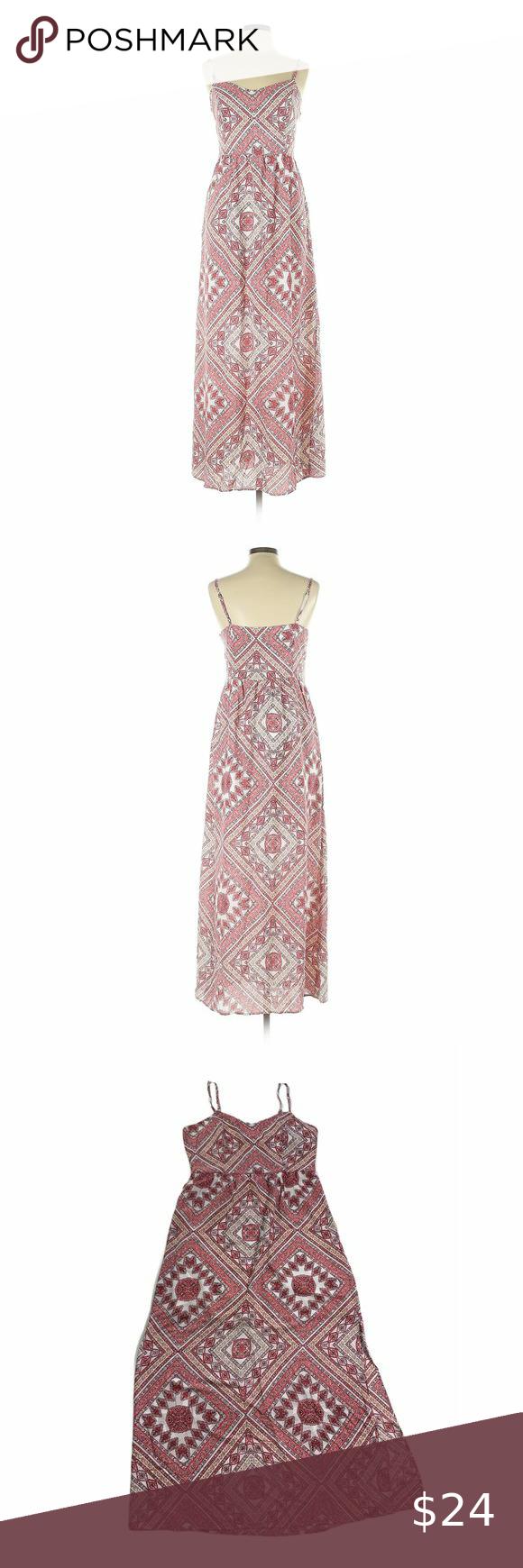 Altar D State Summer Sundress Maxi Large Chevron Red Pink Lined Maxi Dress By Altar D State With A Boho Styl Maxi Sundress Altard State Dresses Summer Sundress [ 1740 x 580 Pixel ]