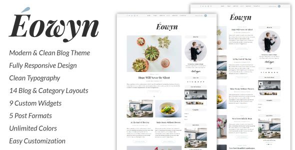 Responsive 	blog, blogger, clean, creative, elegant, feminine, food, instagram, lifestyle, minimal, personal blog, simple, slider, travel