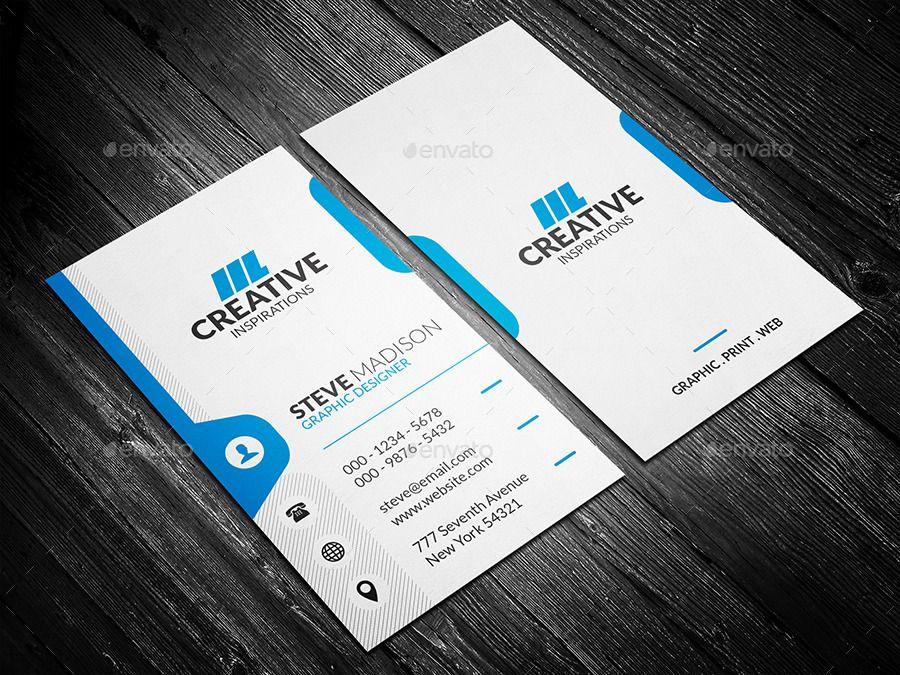 Creative Corporate Business Card Business Card Dimensions Corporate Business Card Business Card Template Psd