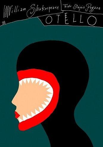 Otello | Theatre poster, Othello, Play poster