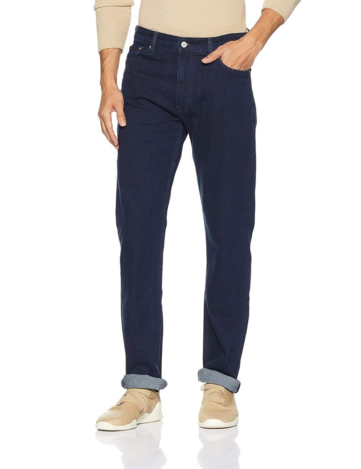 36351d1e11a Levi's Men's (513) Slim Straight Fit Jeans: Amazon.in: Clothing &  Accessories