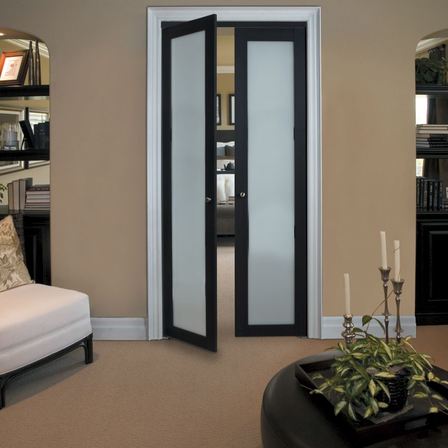 shop kingstar 1 lite frosted pivot interior door common on lowes paint sale today id=98096