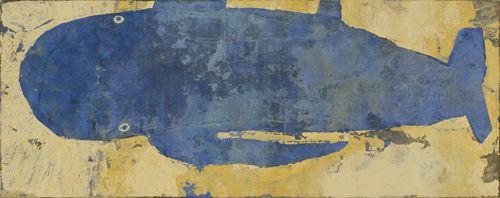 Akira Nagasawa, Blue Whale | クジラアート, イラストアート, 日本画