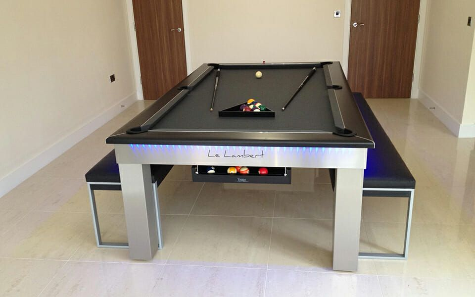 Billard Le Lambert Table Achat Billard Design 8 Pool Made In France Billard Table A Manger Billard Design Table De Billard