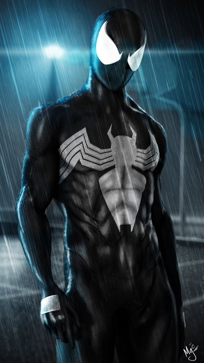 Black Spider Man By Mistergoodcat On Deviantart Superhero Black Spiderman Marvel Superheroes