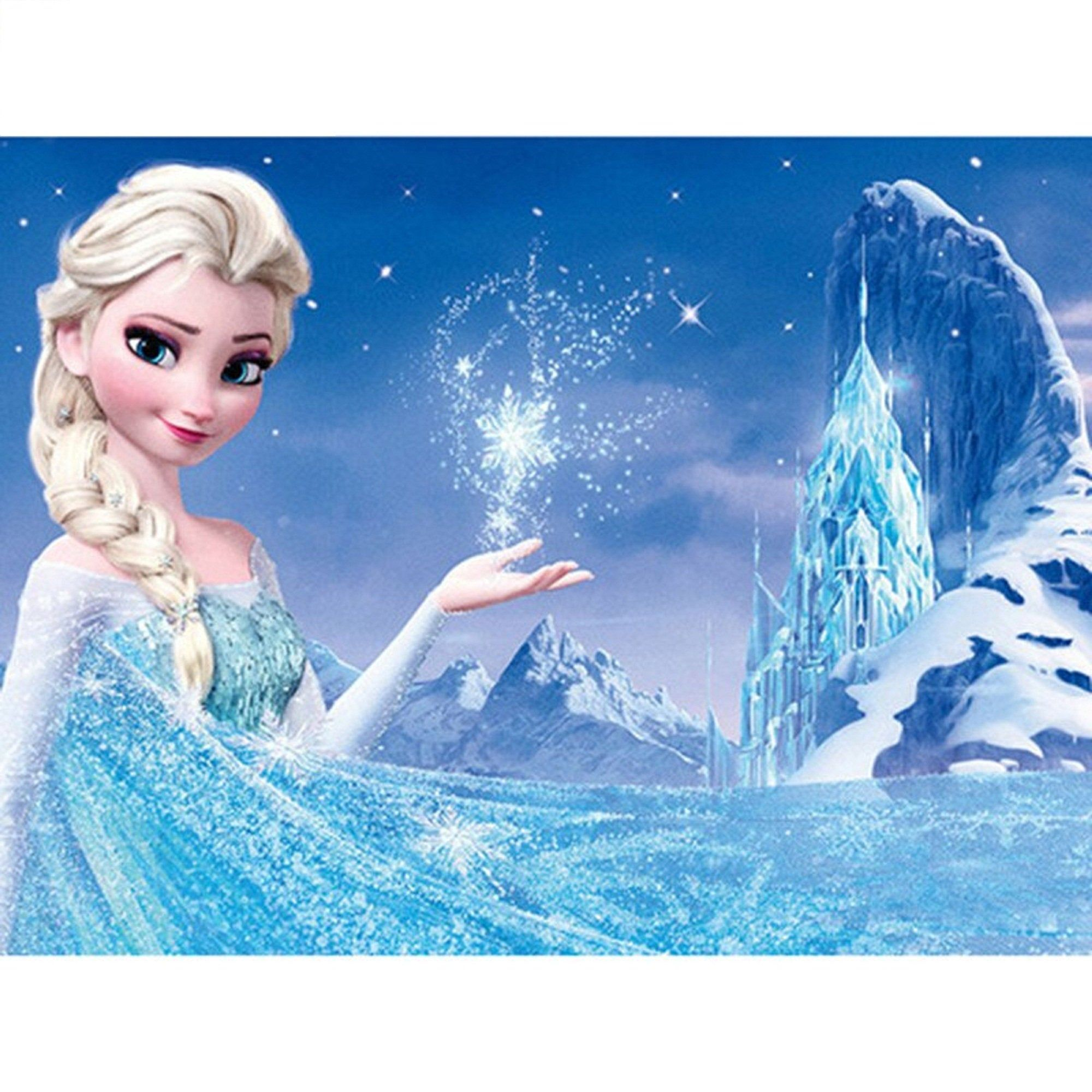Disney Diamond Painting Snow Princess Full Square Drill Diamond Embroidery Cross Stitch Kits Ideias De Fotos Fotos Estampas