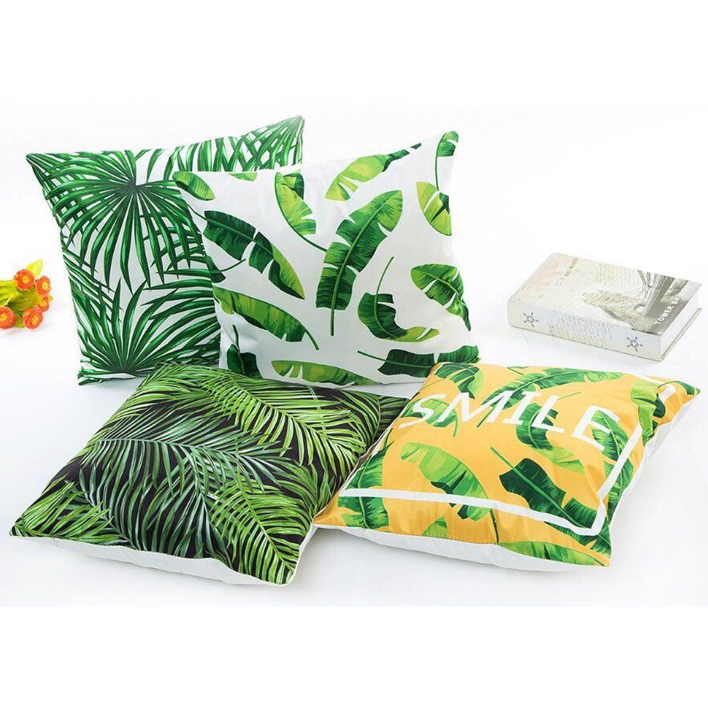 Check Printed Pillow Cover Set of 2 Rectangular Satin Throw Bedding Gift Item