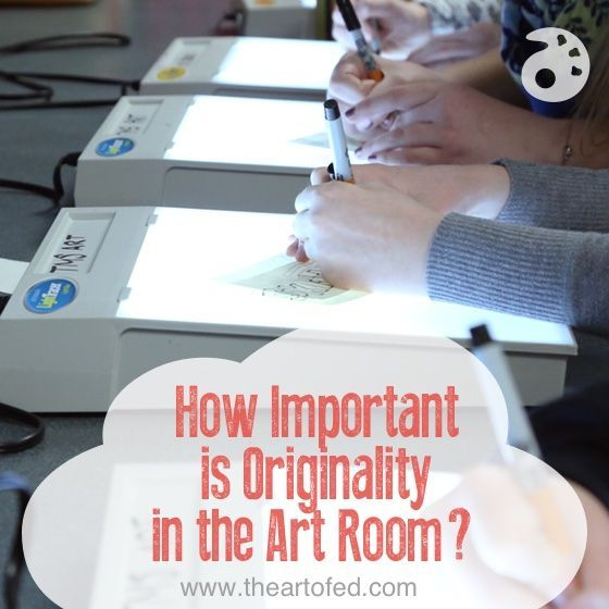 How Important is Originality in the Art Room Art lessons