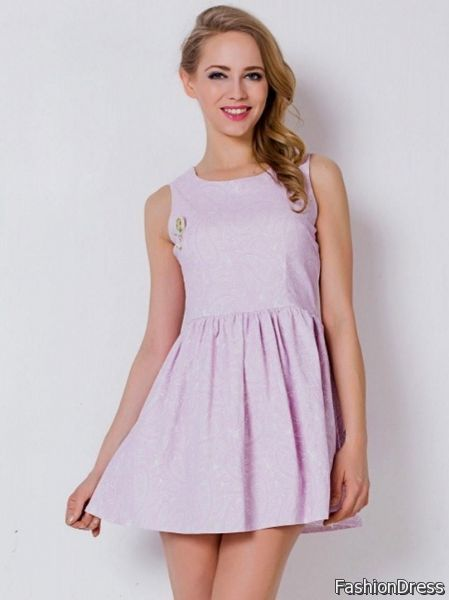 light purple skater dress 2017-2018 » DreamyDress