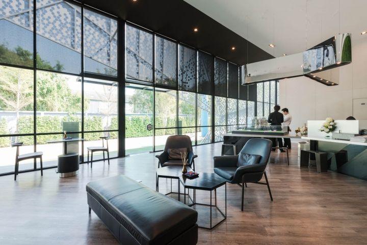 Modiz Condo Sales Office by PODesign, Phahonyothin Rd – Thailand » Retail  Design Blog