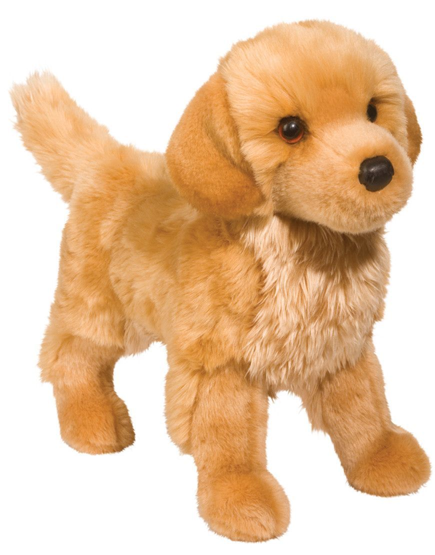 King Golden Retriever Plush Toy Golden Retriever