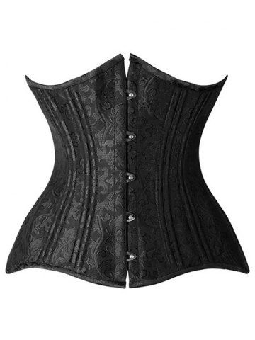 GET $50 NOW | Join RoseGal: Get YOUR $50 NOW!http://www.rosegal.com/corset-bustiers/flower-jacquard-lace-up-corset-881356.html?seid=1424208rg881356