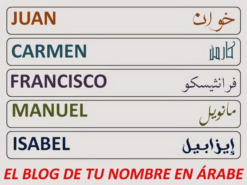 Pin By Sonia On Tattoo Nombres En Arabe Tatuajes En Arabe