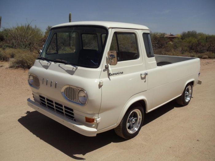 1964 Ford Econoline Deluxe Vintage Pickup Trucks Ford Pickup