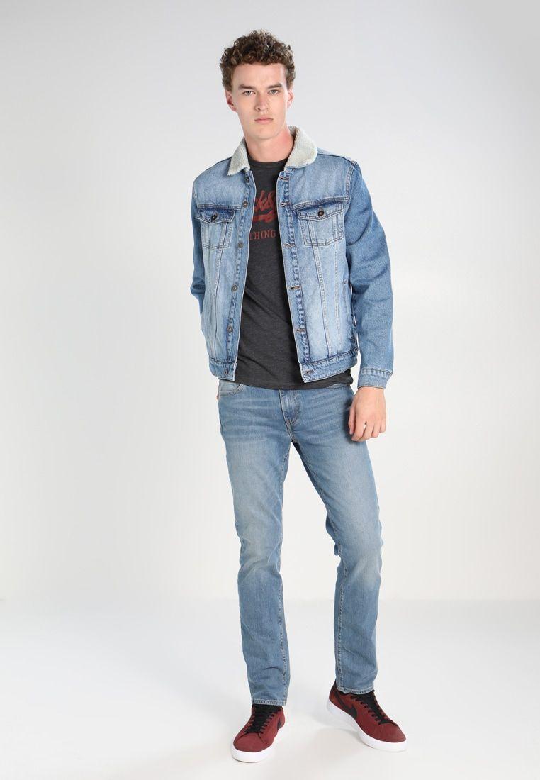 Levis 511 slim jeans slim fit harbourblue denim