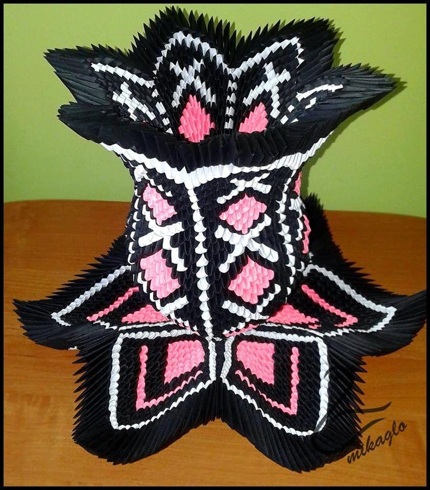 3d origami lotos vase httpmikaglospot201502waza 3d origami lotos vase httpmikaglospot2015 floridaeventfo Image collections
