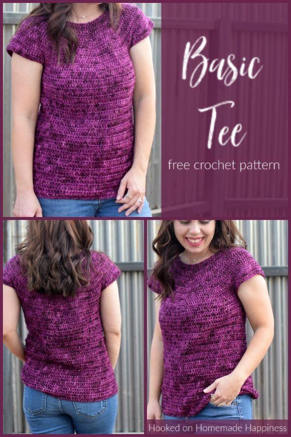 Photo of Basic Tee Crochet Pattern